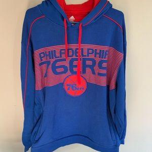 Men's Philadelphia 76ers XL Hoodie